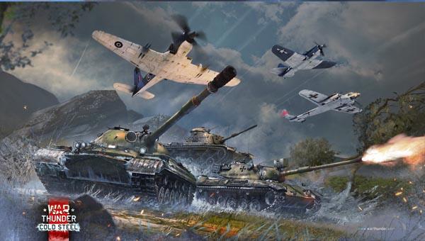 танк и самолеты