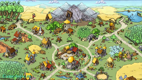 деревня травиан