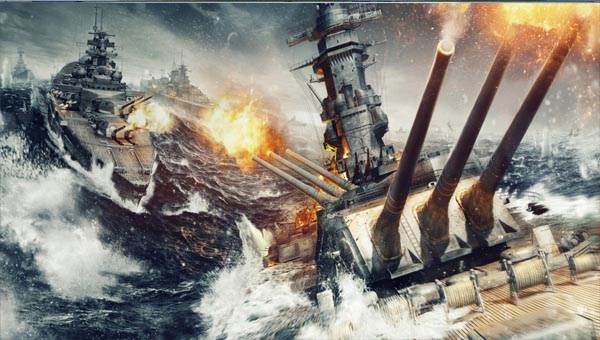 бой корабли