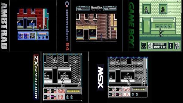 Скриншот игры робокоп