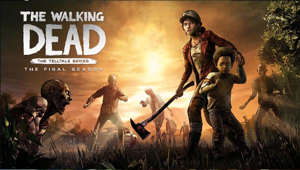 зомби игра The Walking Dead: The Game