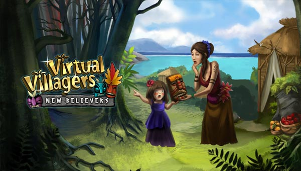 игра Virtual Villagers
