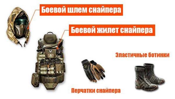 экипировка снайпера