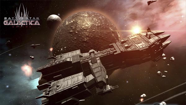 Battlestar Galactica Online игра