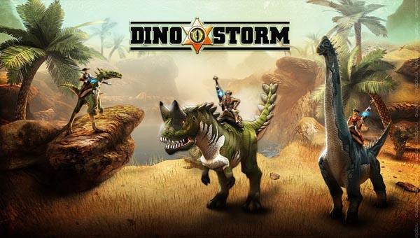 Dino Storm игра