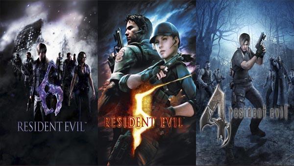 Resident Evil 5 и 6 игра