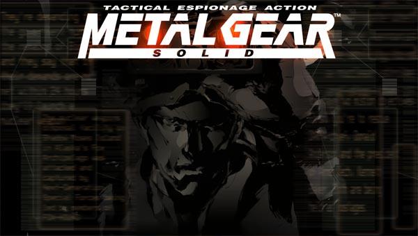 Metal Gear Solid игра