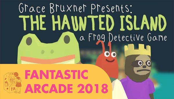 The Haunted Island: A Frog Detective Game