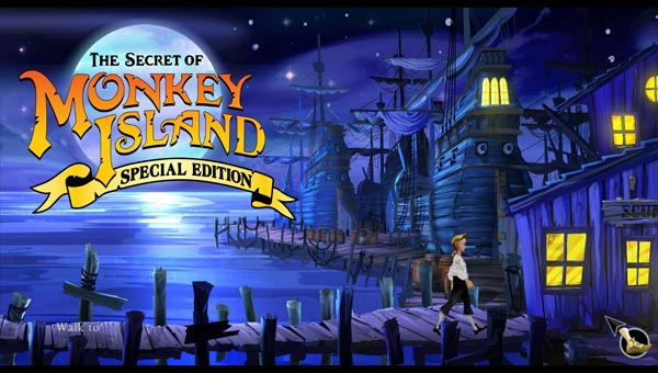 The Secret of Monkey Island: Special Edition игра