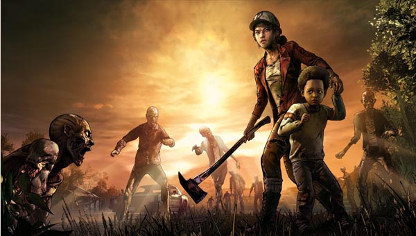 The walking Dead: The Game игра