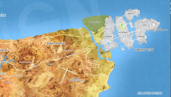 карта гта 6
