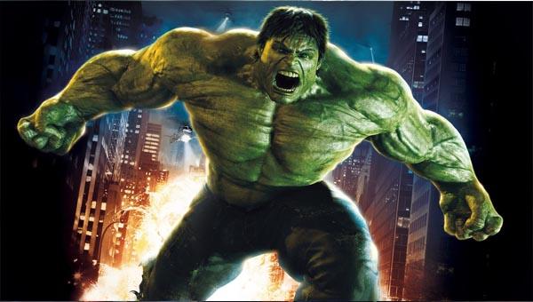 зеленом обличии Халк