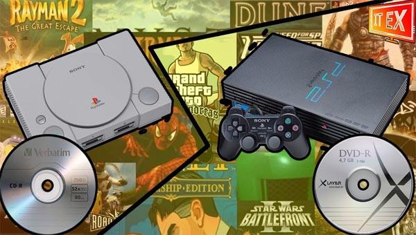 Запись игр Playstation 2 на диск