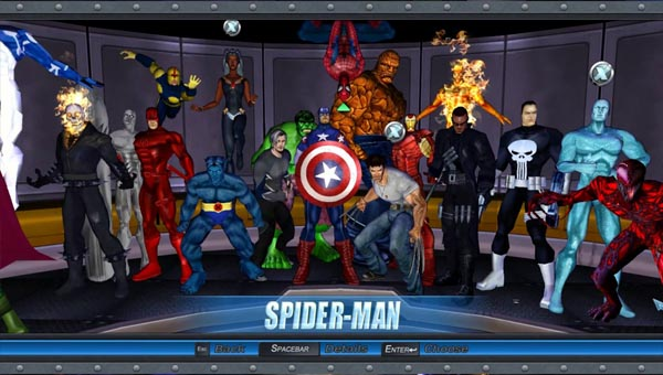 игра Marvel Ultimate Alliance