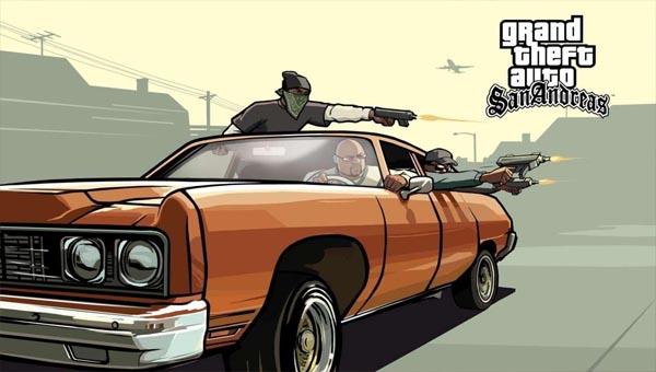 GTA San Andreas игра