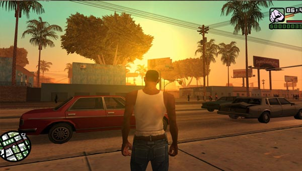 Grand Theft Auto: San Andreas игра