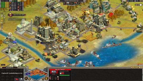 Rise of Nations игра
