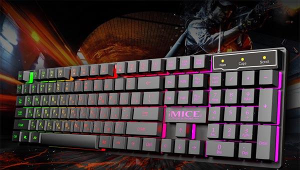 Полумеханическая клавиатура