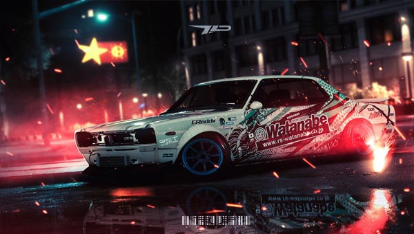 NEED FOR SPEED 2015 гонка с тюнингом