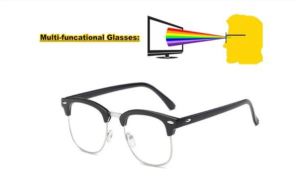 Компьютерные очки с особыми линзами