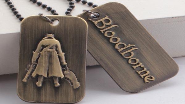Ожерелье с жетонами Bloodborne
