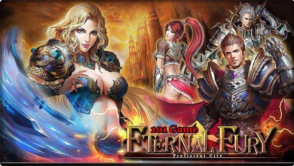 ETERNAL FURY браузерная онлайн игра