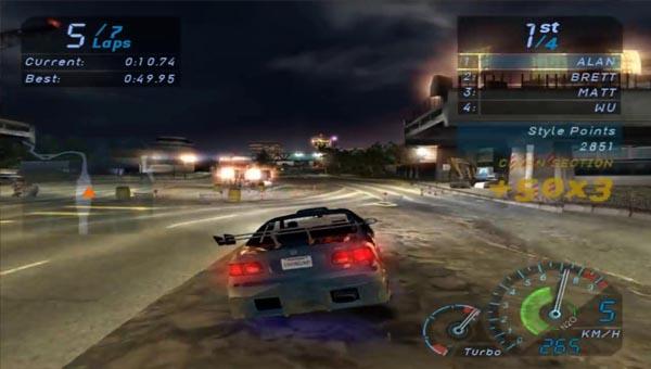 Need for Speed: Underground миссия 103 трасса