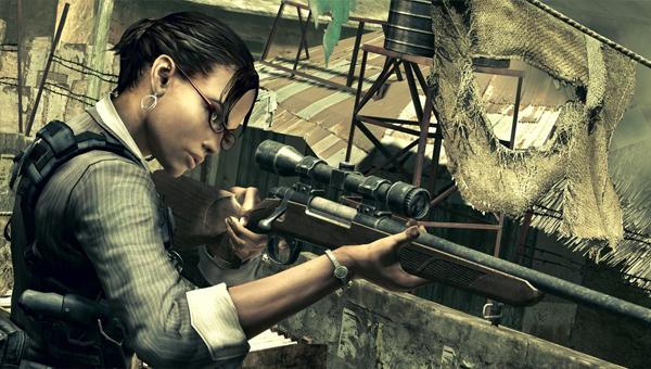 Шева Аломар, появившаяся в 5-й серии Resident Evil