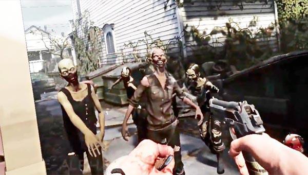 The Walking Dead: Saints & Sinners игра 2020
