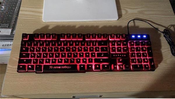 Игровая RGB клавиатура DBPOWER