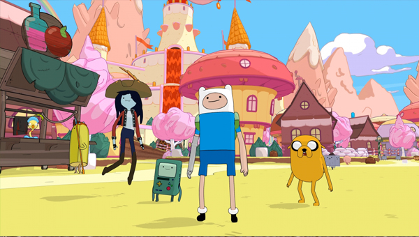 ADVENTURE TIME: PIRATES OF THE ENCHIRIDION игра