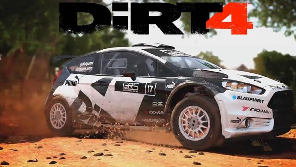DiRT 4 пк гонка