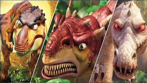 Ice Age: Dawn of the Dinosaurs игра