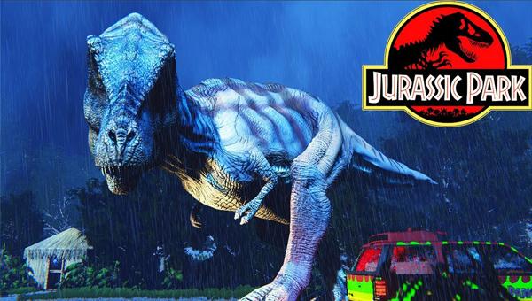 Jurassic Park стимулятор динозавров