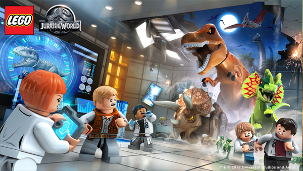 LEGO Jurassic World игра