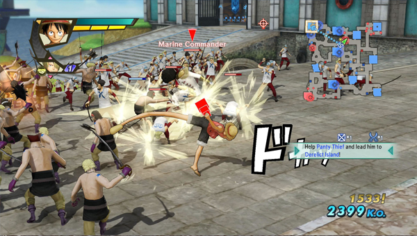 ONE PIECE PIRATE WARRIORS 3 игра