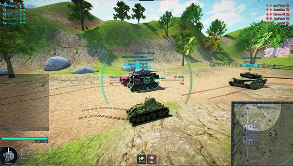 Omega Tanks игра