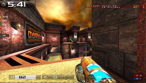 Quake Live игра