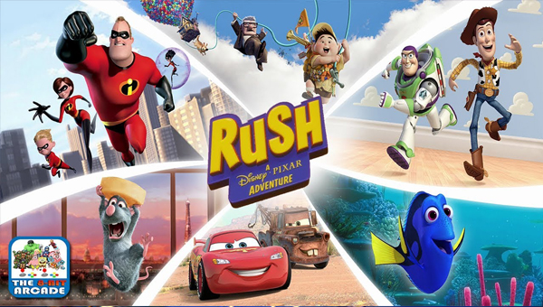 RUSH: A DISNEY PIXAR ADVENTURE игра