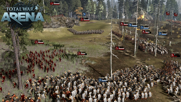 TOTAL WAR: ARENA игра