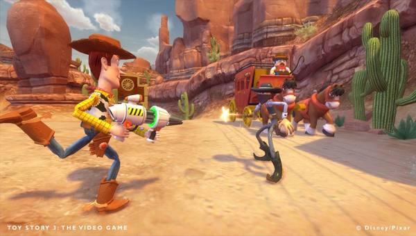TOY STORY 3: THE VIDEO GAME игра