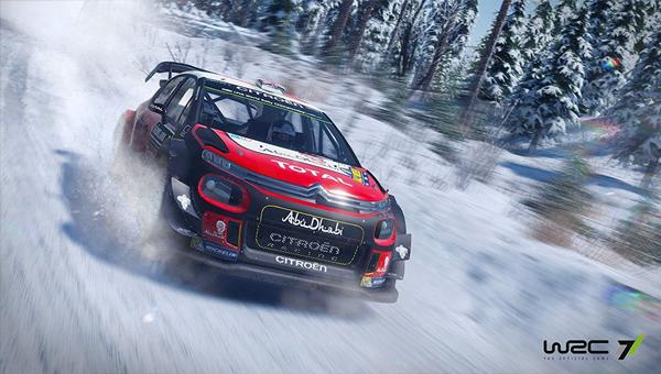 WRC 7 гонка на пк