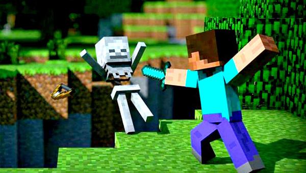 боевик «Minecraft»