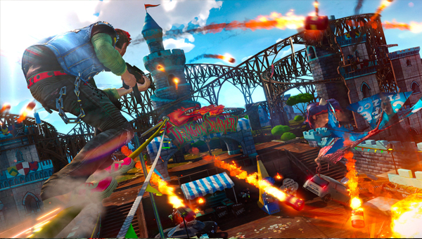 SUNSET OVERDRIVE игра