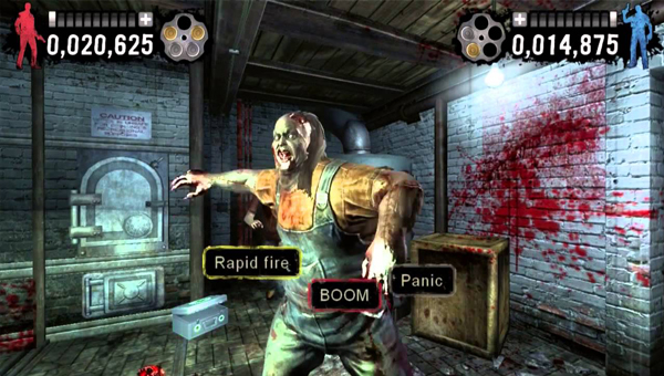 игра TYPING OF THE DEAD: OVERKILL