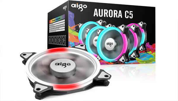 Aigo C5 – кулер с RGB подсветкой