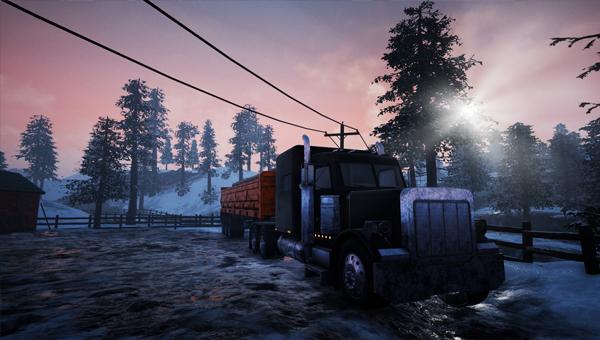 Alaskan Truck Simulator игра