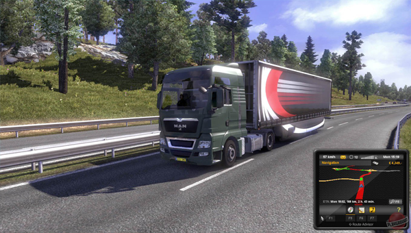EURO TRUCK SIMULATOR 2 игра