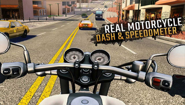 игра Moto Rider GO: Highway Traffic