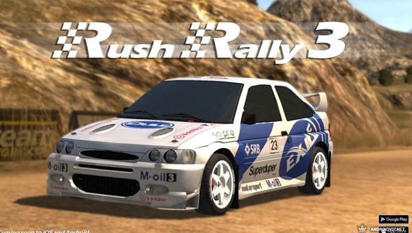 RUSH RALLY 3 игра